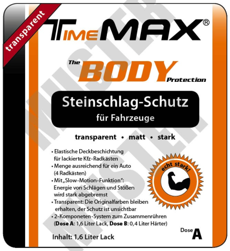 Timemax Body matt-transparent 2 Liter